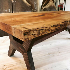 Live Edge Spalted Maple Coffee Table