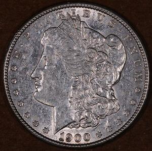 1900 Philly Morgan Silver Dollar (9128-9129)