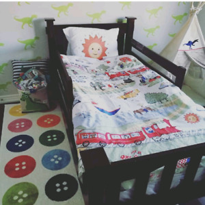 Pottery barn kids twin bed