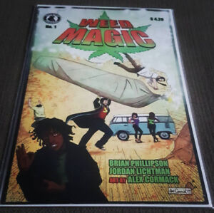 WEED MAGIC issue no.1 -first print low print run
