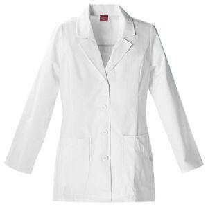 Scrubs-Dickies-Womens-Fashion-Lab-Coat-White-84405-Buy-3-Ship-6