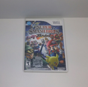Super Smash Bros bBrawl Wii