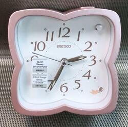 Seiko Beep / 2 Bird song LumiBrite Sweep Snooze Light Bedside Alarm Clock QHP009