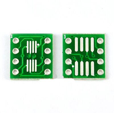A Set Of 50pcs Sop8 Soic8 Tssop8 Msop8 To Dip8 Adapter Conveter Diy Pcb Board