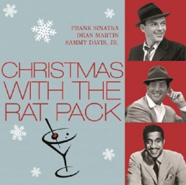 CHRISTMAS WITH THE RAT PACK  CD- FRANK SINATRA; DEAN MARTIN; SAMMY DAVIS JR NEU