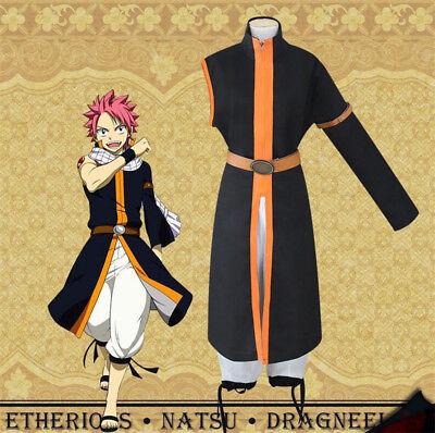 Halloween Cosplay Japanese Anime Fairy Tail Natsu Dragneel Cosplay Costume Suit (Japanese Anime Costumes Halloween)