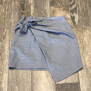 Zara Asymmetrical Wrap Skirt Size Small