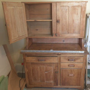 Kitchen Hutch - Antique - Pantry - Cabinet - REDUCED