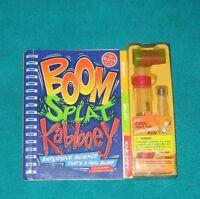 Boom,Splat ,Kablooey Explosive Science Kit that's a real Blast