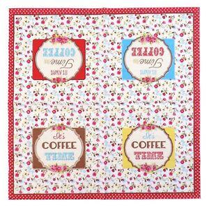SIEMPRE-Tiempo-Para-Cafe-Floral-3-capas-20-servilletas-de-Papel-13-X13-034