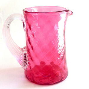 Cranberry Glass - Antique Cream Pitcher Kingston Kingston Area image 1