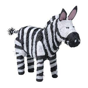 Zebra Pinata - Safari Zoo Animal Themed Party Games ...
