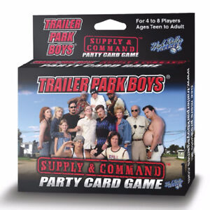 Trailer Park Boys Supply & Command Card Game!