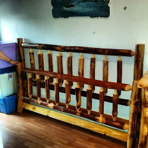 Cedar King Size Bed Set