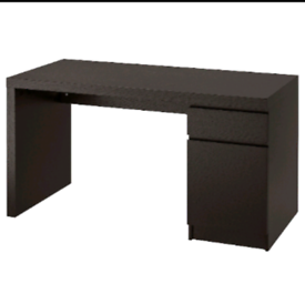 Study desk with cupboard storage