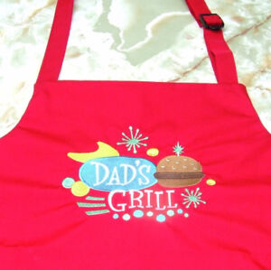Embroidered Aprons and More