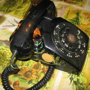 Mid 1960s Northern Electric Rotary Phone