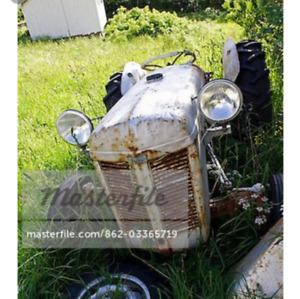 Looking for an old Tractor