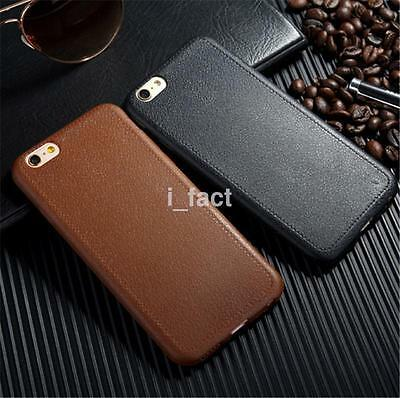 Ultra-thin Luxury PU Leather Back Case Cover Shell For Apple iPhone 7/7Plus US