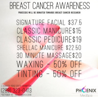 Breast Cancer Awareness - Spa Promos