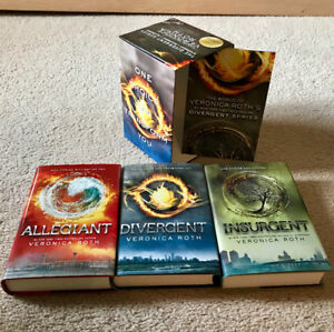 Divergent book series - boxed book set