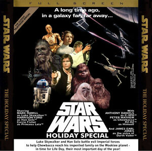 STAR WARS holliday special DVD