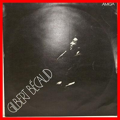 GILBERT BECAUD SAME SCHWARZ AMIGA 12 LP B636