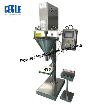 Powder Particle Filling Machine For Teaseedgrain Weigh Filler 5000g By Sea