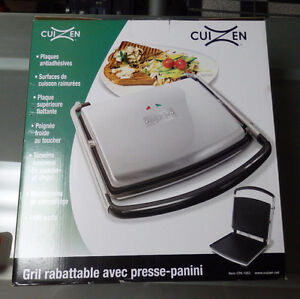 NEW INDOOR GRILL WITH PANINI MAKER - RETAILS 89.99+TAX West Island Greater Montréal image 1
