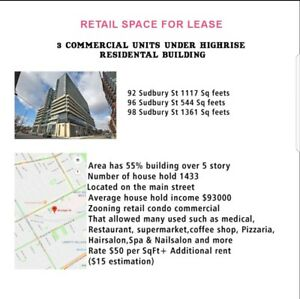 Commercial retail for lease