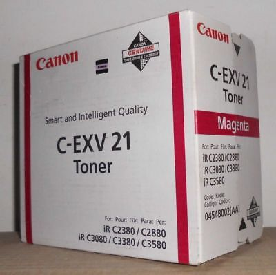 Canon C-EXV 21 Toner magenta  iR C2380 C2880 C3080 C3380 C3580 0454B002AA OVP A gebraucht kaufen  Versand nach Austria
