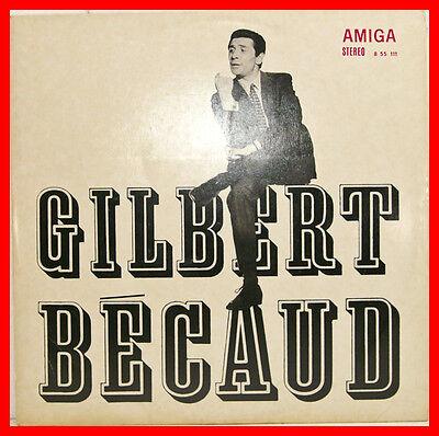 GILBERT BECAUD SAME WEISS AMIGA 12 LP B635