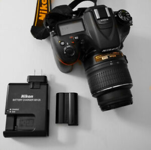 Nikon D7100 16.2 MP DSLR Camera and 18-55mm f3.5-5.6G VR Lens