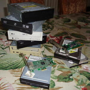 Assorted Computer Drives and Accessories