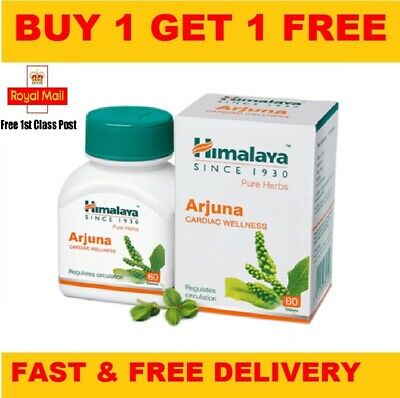 Himalaya Herbal Arjuna Capsules | Control of hypertension | 60 Capsules |