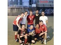 Looking for teams and players for our London Bridge 5-a-side football league!