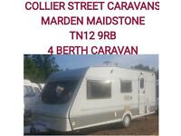 1997 Swift Fairway 4 berth caravan
