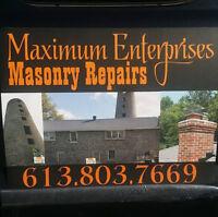 Maximum Enterprises Masonry Repairs