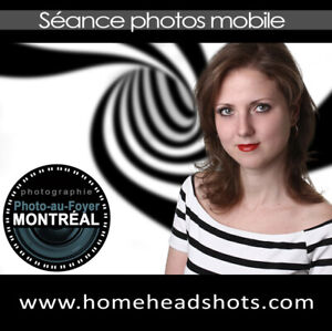 Studio mobile de photographie pour portraits