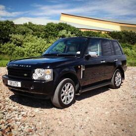 2004 Land Rover Range Rover 2.9 TD6 Auto Black