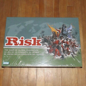 NEW factory sealed RISK board game 2003 PARKER BROTHERS