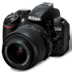 Nikon D3100 Camera with Lowepro Backpack!