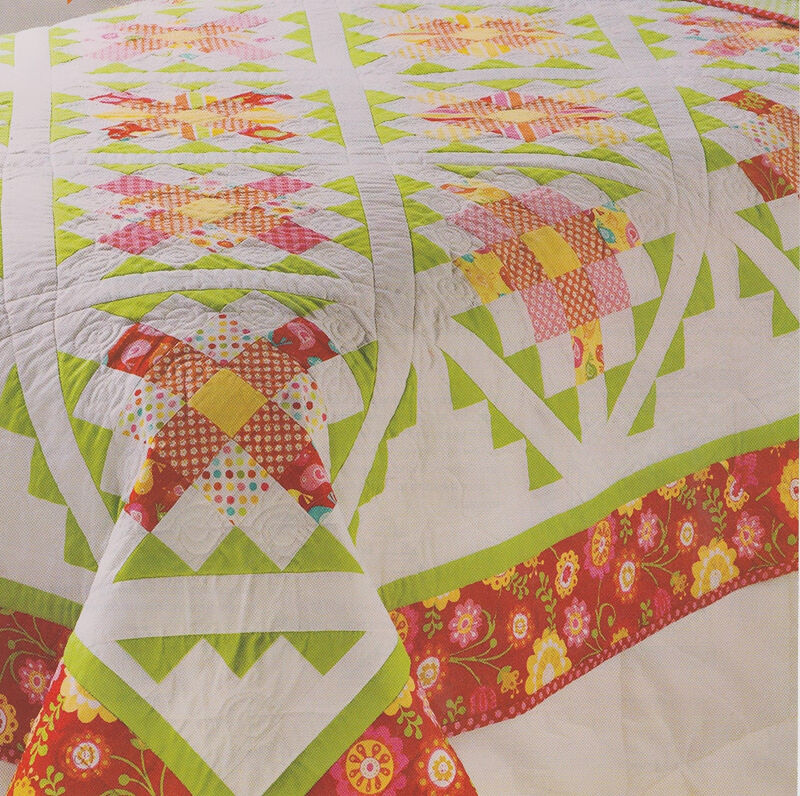 Patchwork Quilting Patterns For Beginners: Top 3 Patchwork Patterns For Beginners