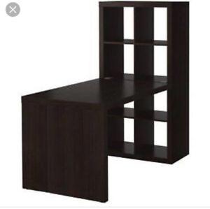 IKEA expedit black desk