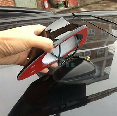 Universal Car Auto Shark Fin Roof Antenna Radio FM/AM Decorate Aerial Black