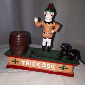 Cast Iron Antique Toy Coin Bank