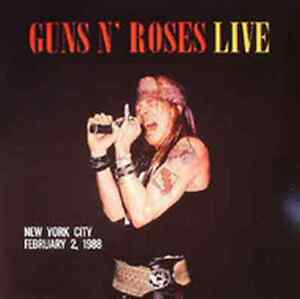 Sealed Vinyl: Guns N Roses - Live In New York City