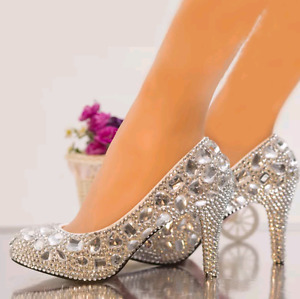 Princess Cinderella crystal shoes