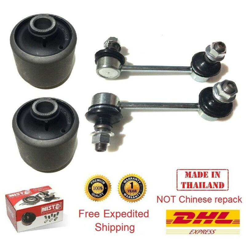 2 Strut Rod Bushing 2 Front Anti-Roll Sway Bar Link for Lexus LS400 1994-2000