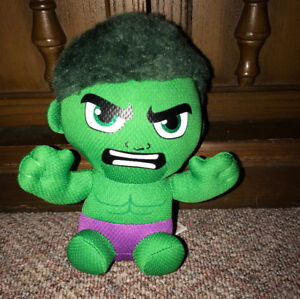 Incredible Hulk Marvel 7 Inch Plush Ty Beanie Baby Toy Figure